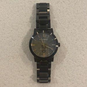 Men's Burberry Graphite Watch